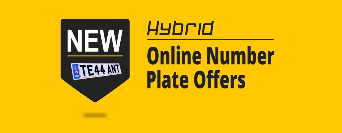 New online number plate offers