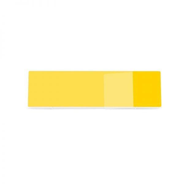 Yellow 660x215mm Wet Reflective