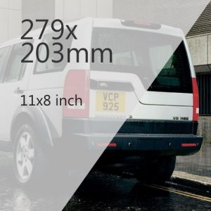 4x4 Number Plate Media