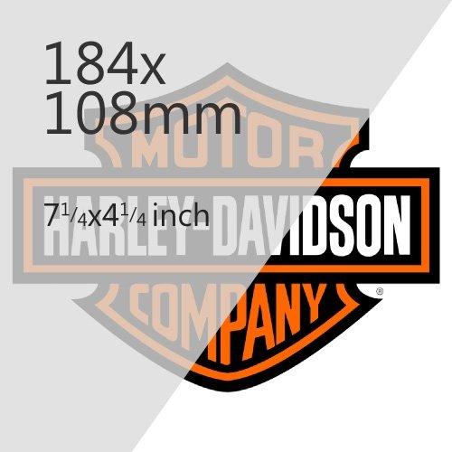 Harley Davidson Motorbikes 184x108mm Plate Media