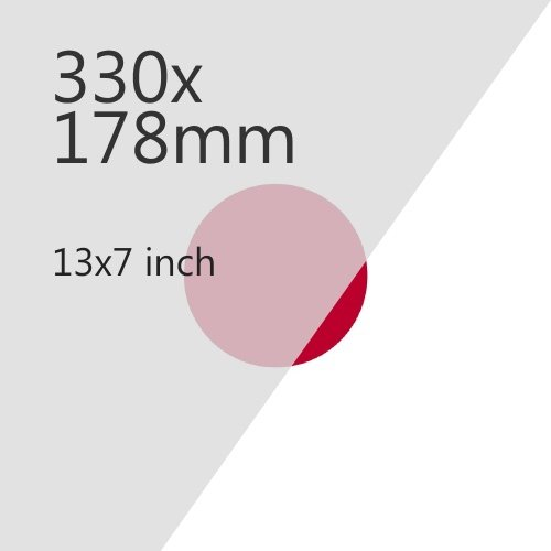 Japanese Imports 330x178mm Plate Media