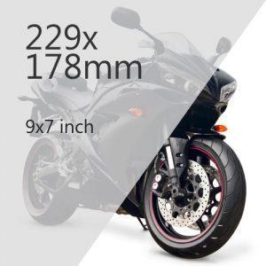 Motorcycle Plate Media