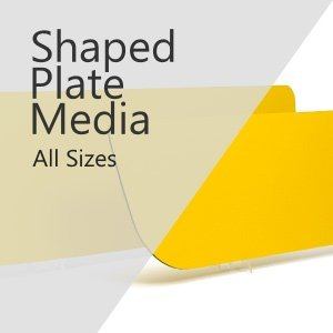 Shaped Number Plate Media