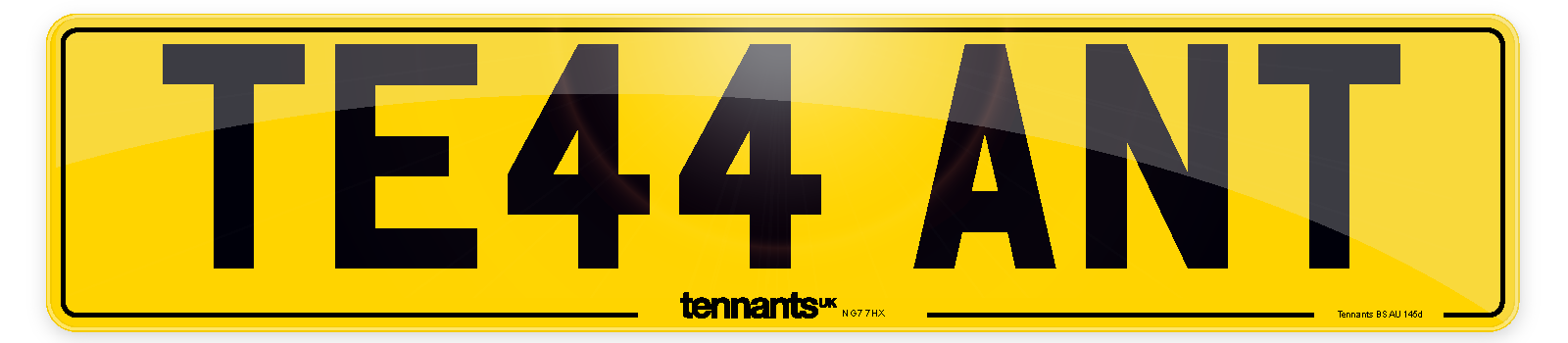 Our Yellow Standard Number Plates