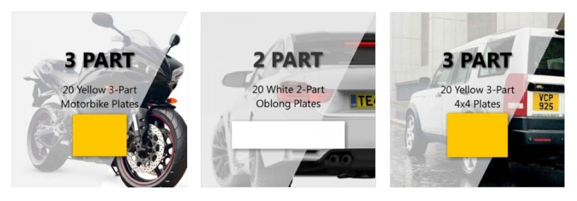 20 Plate Bundles