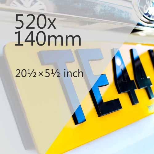 520x140mm Plate Media