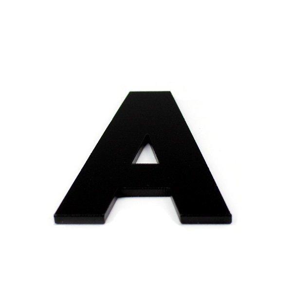 True 3D Letter A