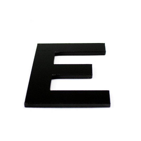 True 3D Letter E