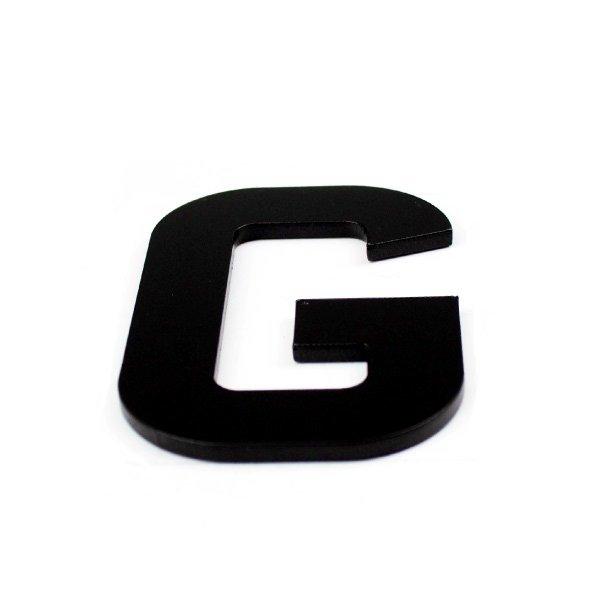 True 3D Letter G