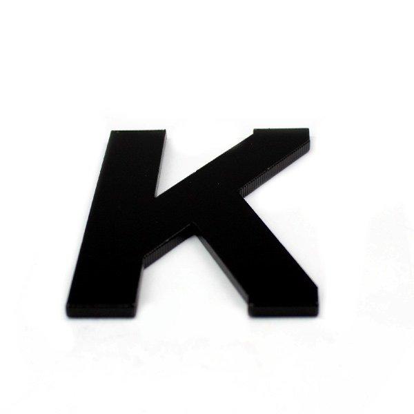 True 3D Letter K