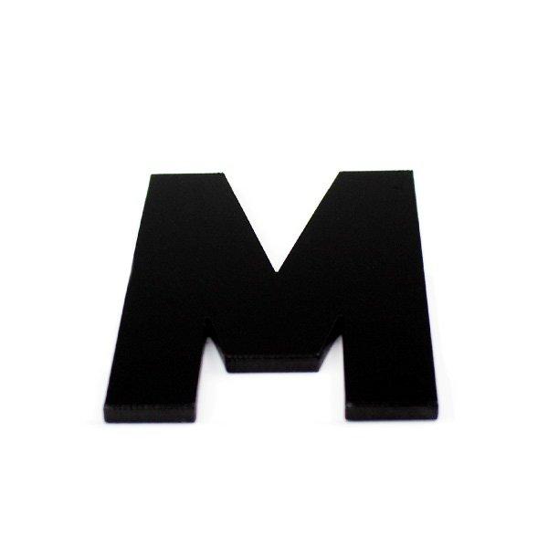 True 3D Letter M
