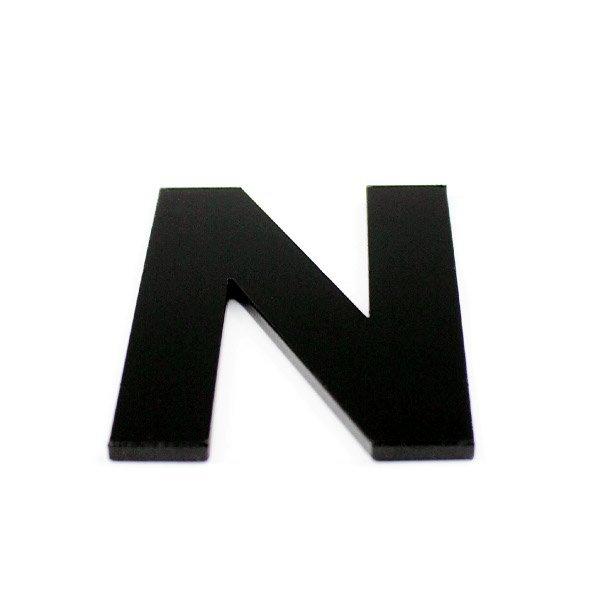 True 3D Letter N