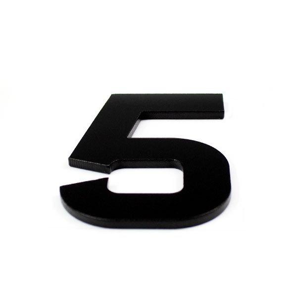 True 3D Number 5