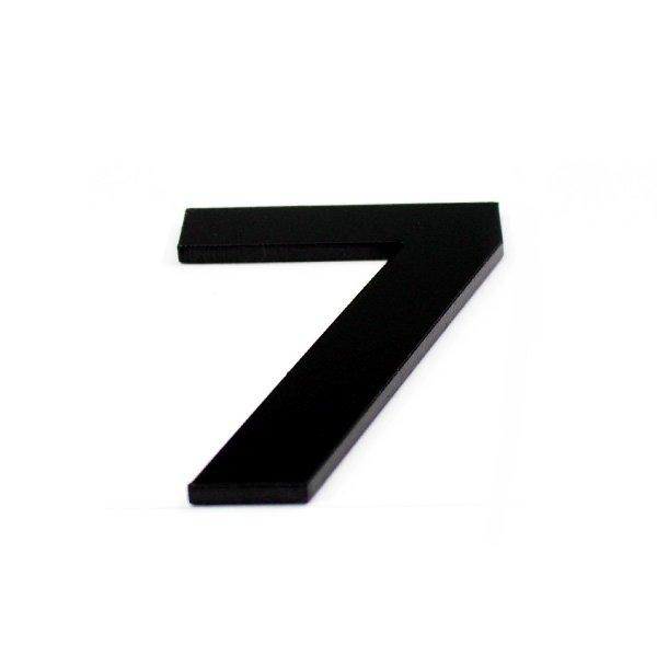 True 3D Number 7