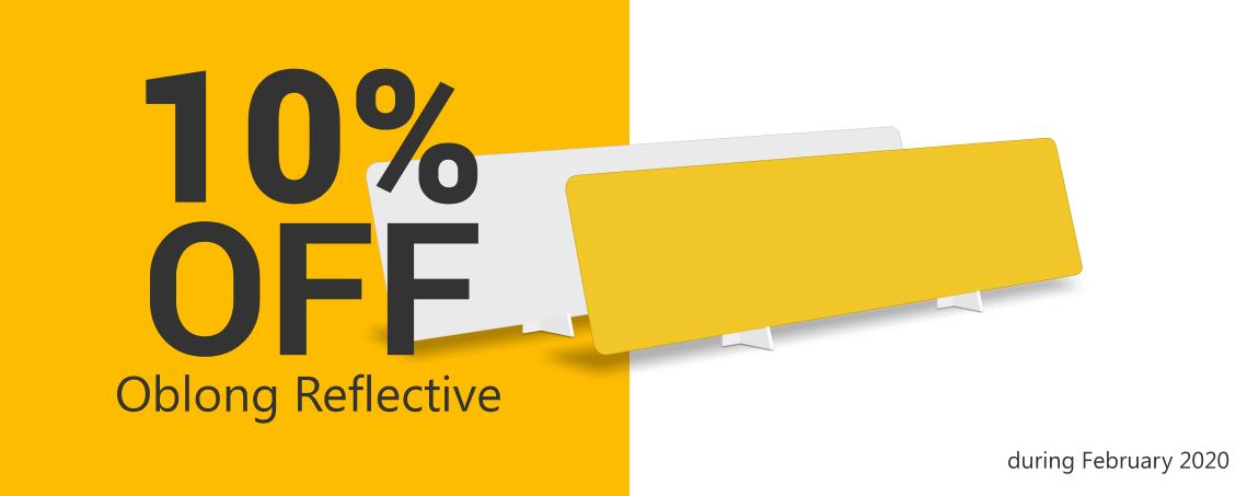 February 2020 sale on reflective sheets