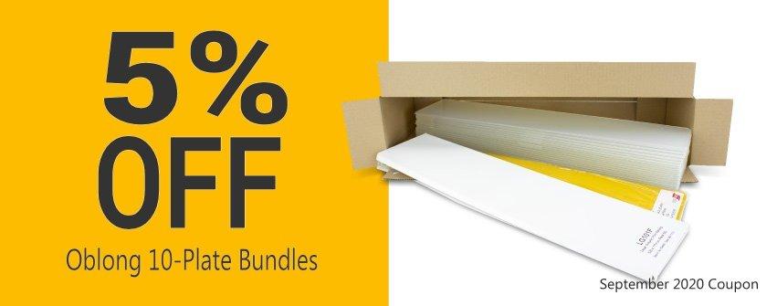 Get 5% OFF Tennants Oblong 10-Plate Bundles this September