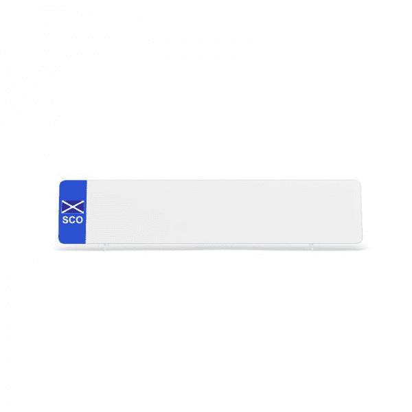 nrd001wpsco White SCO Flag Reflective