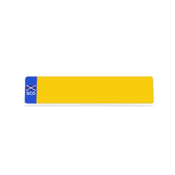 nrd001ypsco Yellow SCO Flag Reflective
