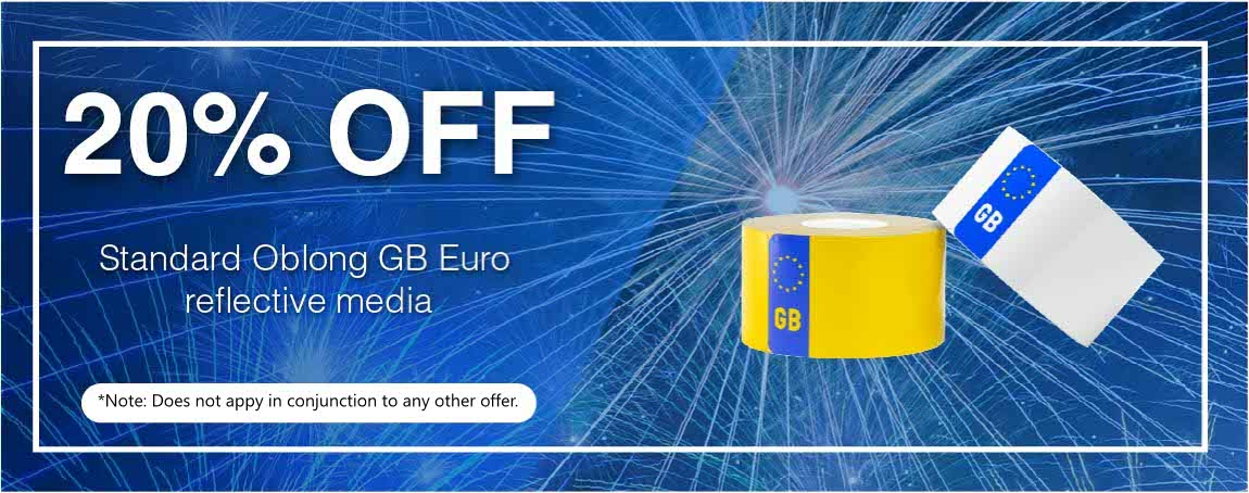 20% OFF EuroGB Badged Reflective Offer