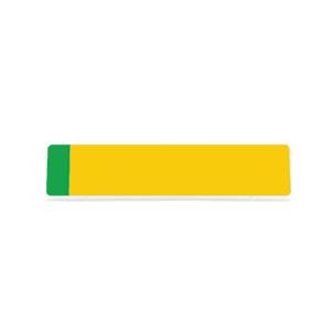 Yellow ZEV Badge Reflective